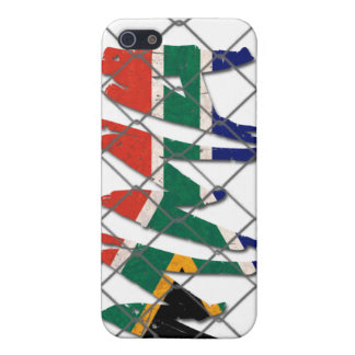 South Africa MMA white iPhone 4 case