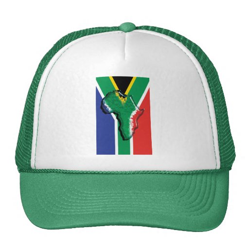South Africa RSA African flag Mesh Hat