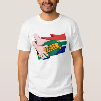 South Africa Rugby Flag T-Shirt