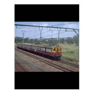 South Africa, SAR MU_Trains of the World Postcard