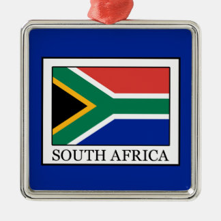 South Africa Silver-Colored Square Decoration