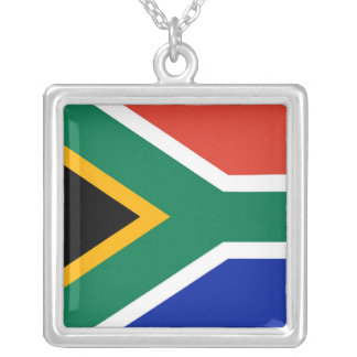 SOUTH AFRICA SILVER PLATED NECKLACE