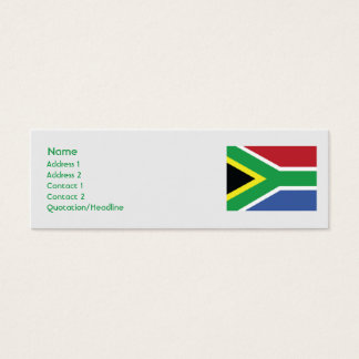 South Africa - Skinny Mini Business Card
