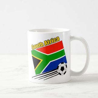 South Africa Soccer Team Basic White Mug