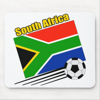 South Africa Soccer Team Mouse Mat