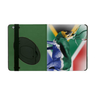 South Africa Springbuck Flag Covers For iPad