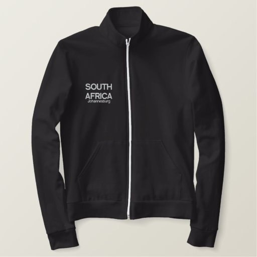 SOUTH AFRICA T-SHIRT/TRACK SUIT EMBROIDERED JACKET