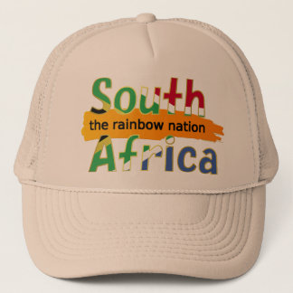 South Africa - the Rainbow Nation Trucker Hat