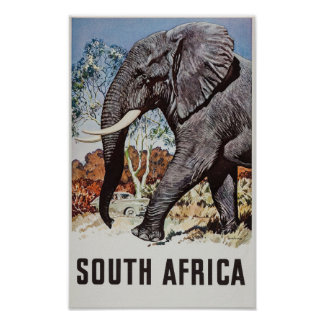 South Africa Travel Poster (2)