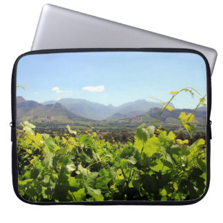 South Africa Vineyard and Wine Laptop Computer Sleeve