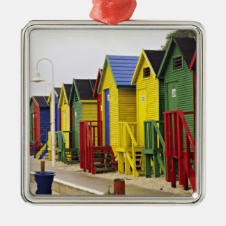 South Africa, Western Cape, St James. Colorful Christmas Ornament