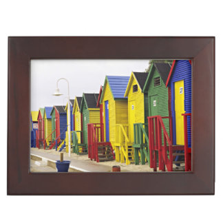 South Africa, Western Cape, St James. Colorful Keepsake Box