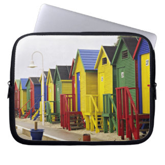 South Africa, Western Cape, St James. Colorful Laptop Sleeve