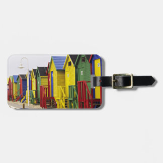 South Africa, Western Cape, St James. Colorful Luggage Tag