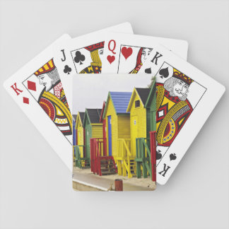 South Africa, Western Cape, St James. Colorful Poker Deck