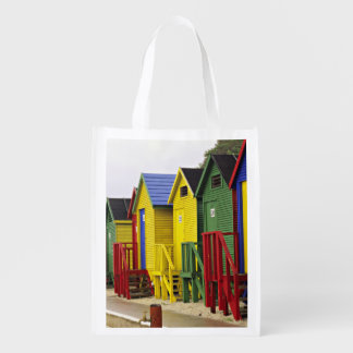 South Africa, Western Cape, St James. Colorful Reusable Grocery Bag