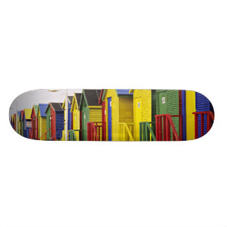 South Africa, Western Cape, St James. Colorful Skateboards