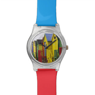 South Africa, Western Cape, St James. Colorful Wristwatch