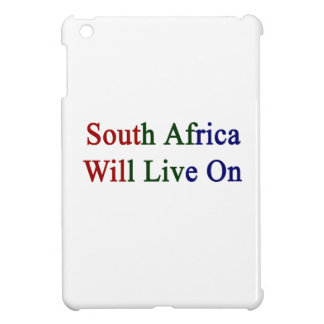 South Africa Will Live On iPad Mini Covers