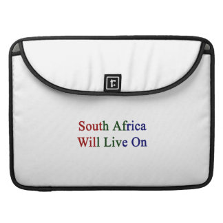 South Africa Will Live On Sleeve For MacBook Pro