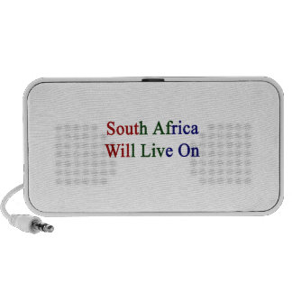 South Africa Will Live On Notebook Speaker