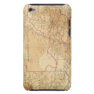 South Africa with shipping routes Case-Mate iPod Touch Case