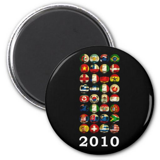 South Africa World 2010 Magnets