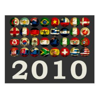 South Africa World 2010 Postcard