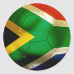 South Africa World Classic Round Sticker