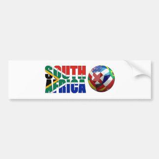 South africa world cup 2010 T-Shirts Bumper Sticker