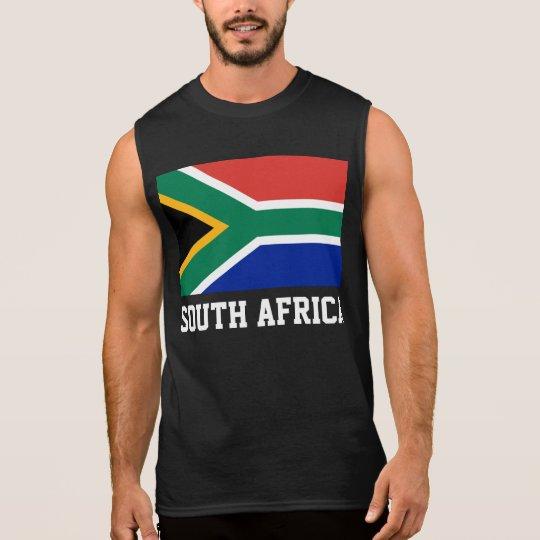 South Africa World Flag Sleeveless Shirt