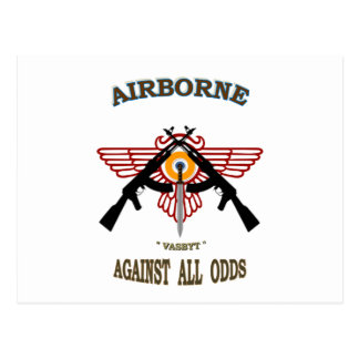 SOUTH AFRICAN AIRBORNE POST CARD