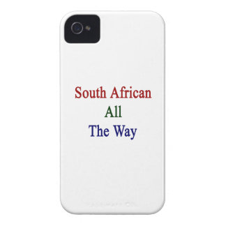 South African All The Way Case-Mate iPhone 4 Cases