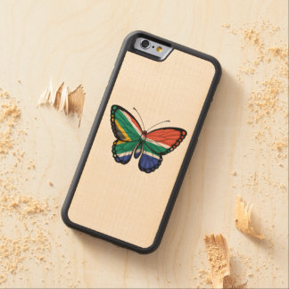 South African Butterfly Flag Maple iPhone 6 Bumper Case