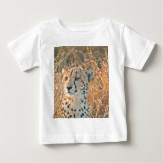 South African Cheetah searches for food Baby T-Shirt
