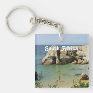 South African Coast Acrylic Keychains