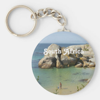 South African Coast Key Chain