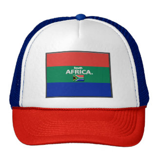 South African Colors Flag Trucker Hat