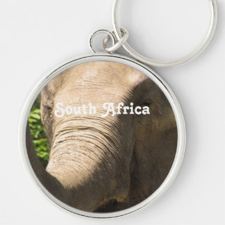 South African Elephant Keychain