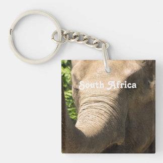 South African Elephant Acrylic Key Chains