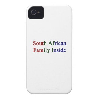 South African Family Inside iPhone 4 Cover