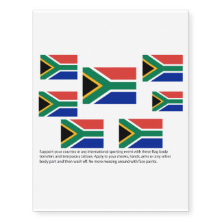 South African flag body transfers