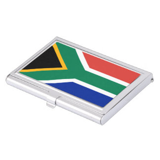 South African Flag Business Card Cases