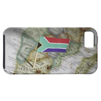 South African flag in map iPhone 5 Cover