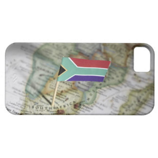 South African flag in map Case For The iPhone 5