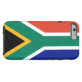 South African Flag iPhone 6 case Tough iPhone 6 Case