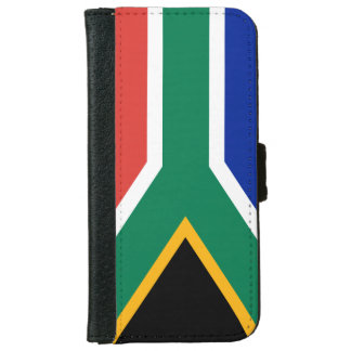 """SOUTH AFRICAN FLAG"" iPhone 6 WALLET CASE"