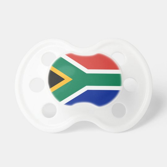 South African Flag of South Africa Pacifier