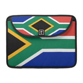 South African Flag Rickshaw Flap Sleeve Sleeves For MacBooks