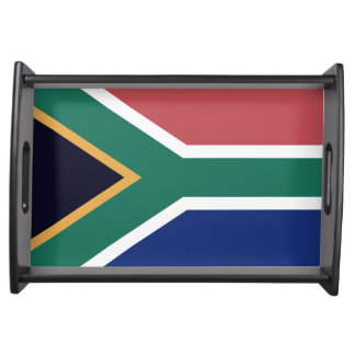 """""""SOUTH AFRICAN FLAG"""" SERVING TRAY"""